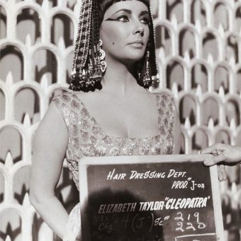 Elizabeth Taylor Cleopatra Hair Dressing Department Photographs (1963)