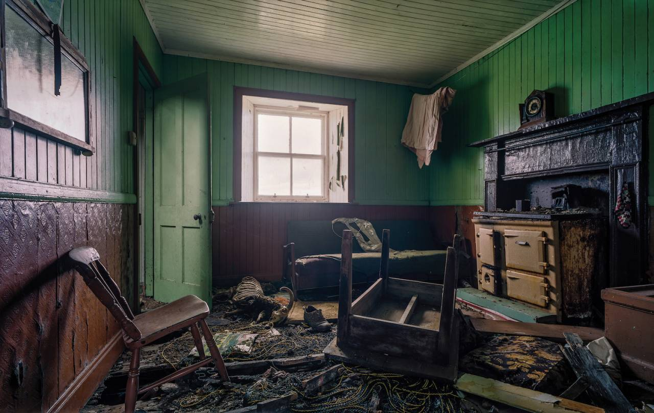 Tin Walls And Technicolor: Abandoned Houses of the Hebrides