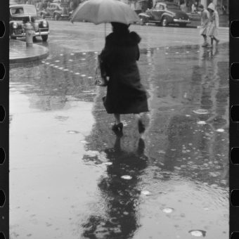 Scenes From A Rainy Day In Norwich Connecticut (1940)