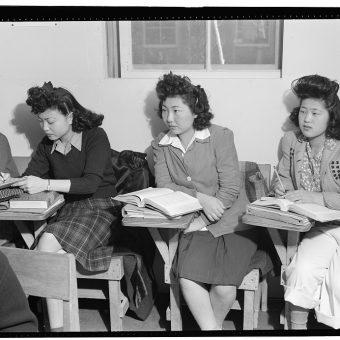 Ansel Adams' Photos of Japanese-American Prisoners of War At Manzanar Internment Camp