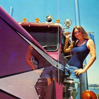 Trucker Magazine Calendar Girls of the 1970s