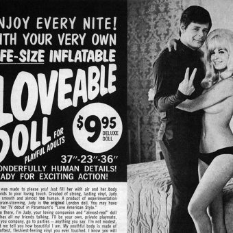 Meet the Girl of Your Dreams… Just Add Air (Vintage Inflatable Love Doll Advertising)