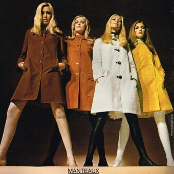 Pretty Publicité: Swinging Mademoiselles in 1960s French Fashion Ads