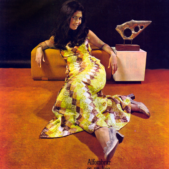 Selling Harvest-Gold Shag: Carpet Ads from the 1960s-1970s