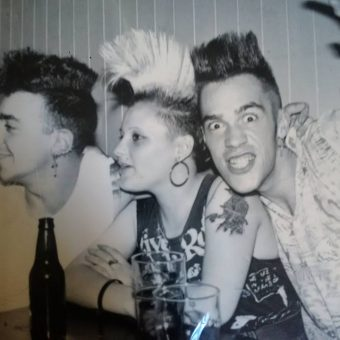 Marseilles Punks In France And London (1980s)