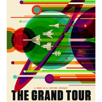 NASA's Future of Space Travel Posters In A Gorgeous Retro Style
