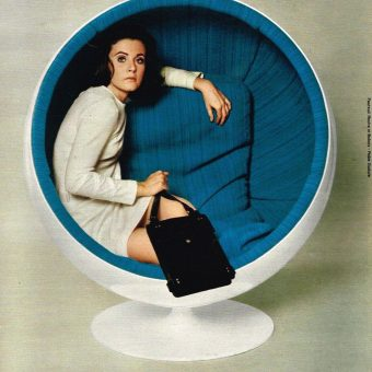 The Amazing Ball & Egg Chairs of the 1960s-1970s