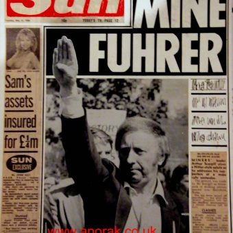 The Sun At 40: When Arthur Scargill Was 'Mein Fuhrer'